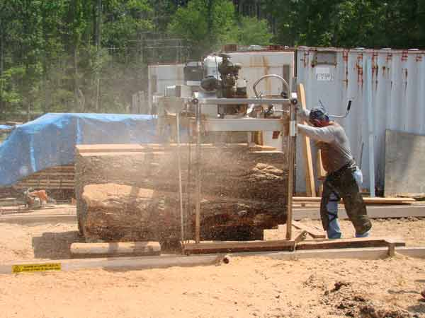 We specialize in Quarter and Rift sawn Oak Lumber, including